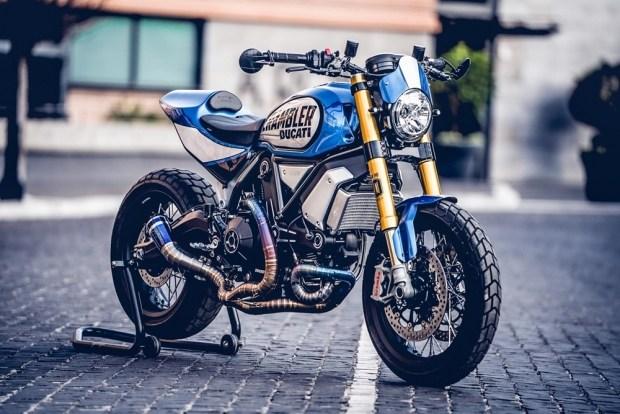 Мечта хулигана: победитель Ducati Custom Rumble 2020