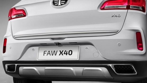 FAW расширяет перечень предлагаемых комплектаций кроссовера FAW X40