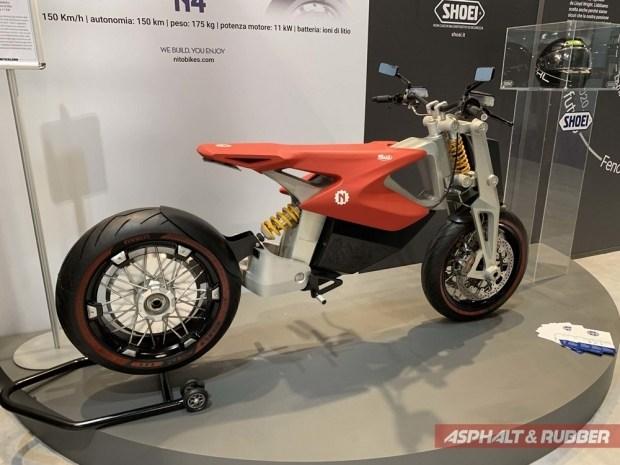 Nito N4: мимимишный электроцикл для Супер Марио