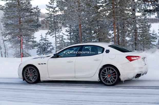 Maserati научит Ghibli питаться от розетки