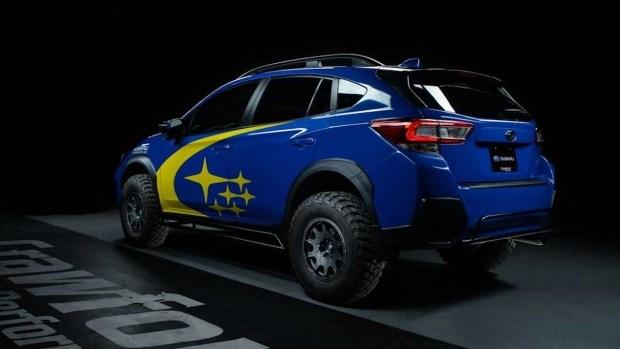 Subaru XV собрался покорять гонку Baja?