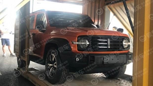 Китайский Ford Bronco: появились первые фотографии - Авто Mail.ru