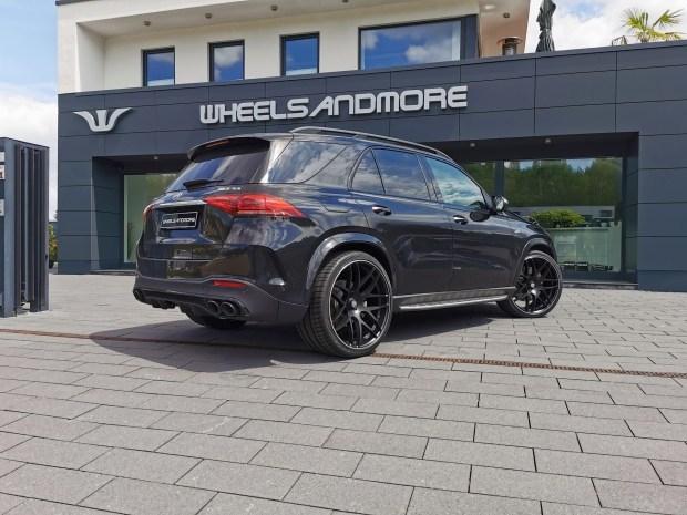 Mercedes-AMG GLE получил заряд бодрости от Wheelsandmore