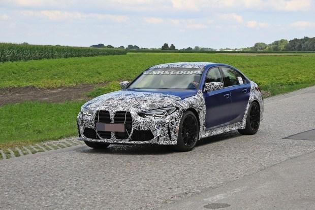 Новая BMW M3: и все-таки эти ноздри...
