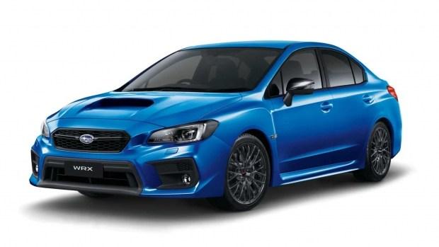 Лимитированный Subaru WRX Club Spec