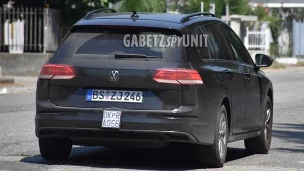 Новый Volkswagen Golf Variant: уже без камуфляжа