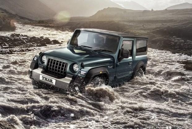 Новый внедорожник Thar: Mahindra продолжает троллить Jeep