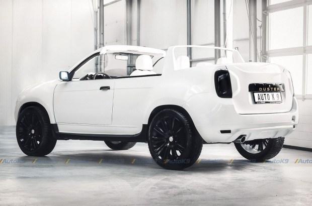Dacia Duster превратили в кабриолет