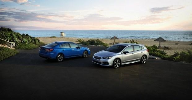Цены на обновленную Subaru Impreza стартуют от $18.800