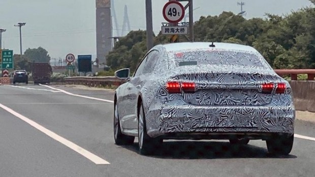 Audi A7 превратится в седан