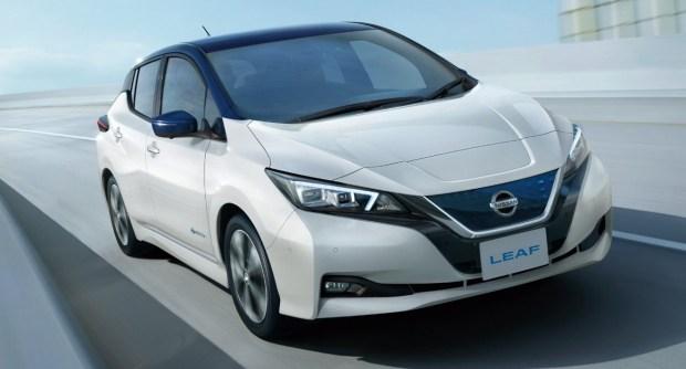 Полумиллионный Nissan Leaf сошел с конвейера