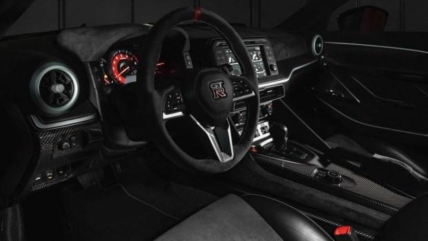 Nissan прощается с GT-R 710-сильной версией