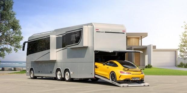 Роскошный автодом который заменит вам собственное жилье