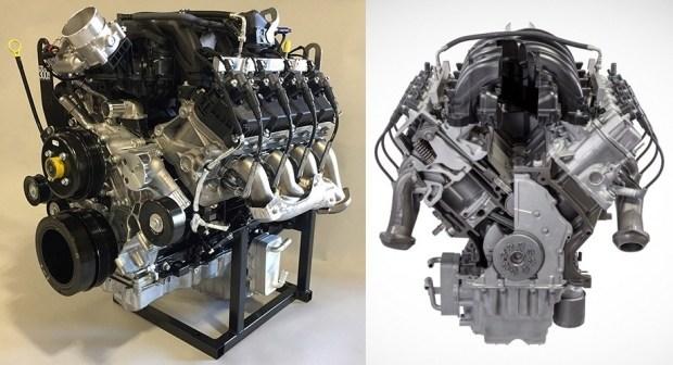 Годзилла возвращается: мощный V8 от Ford в действии