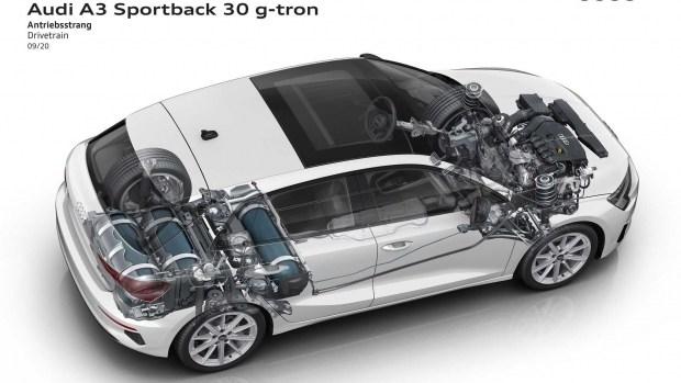 Audi представила битопливную версию Audi A3 Sportback