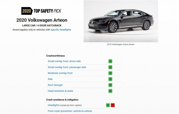 Как дела с безопасностью у нового Arteon?