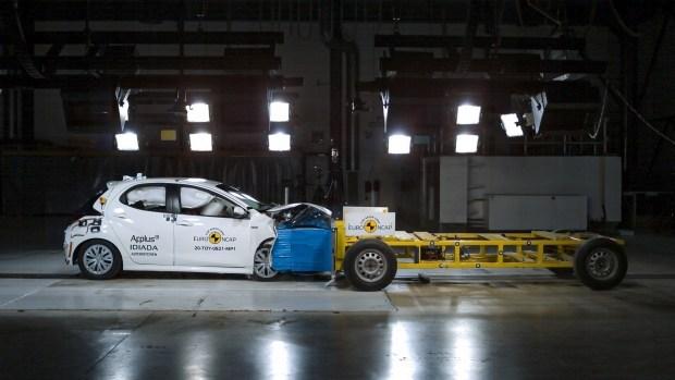 Toyota Yaris проверил новые протоколы Euro NCAP
