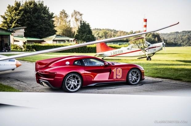 Touring Superleggera aero 3: какой могла бы быть GTC4Lusso
