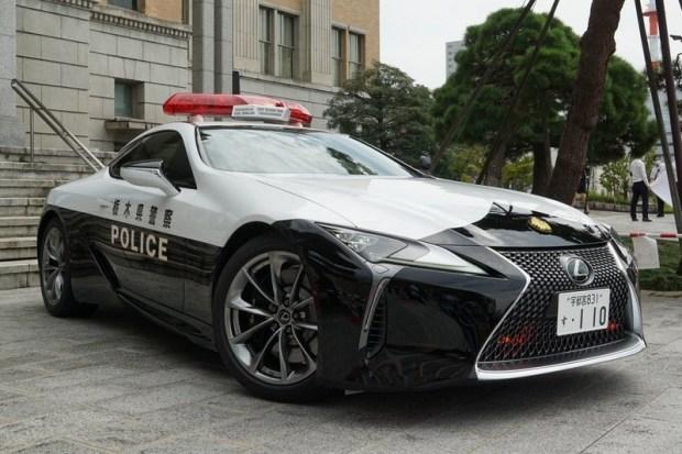 Lexus LC на службе правопорядка