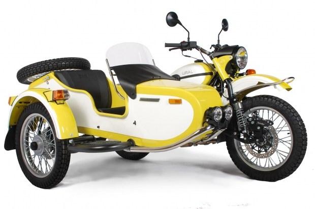 Урал создал яркий мотоцикл для США