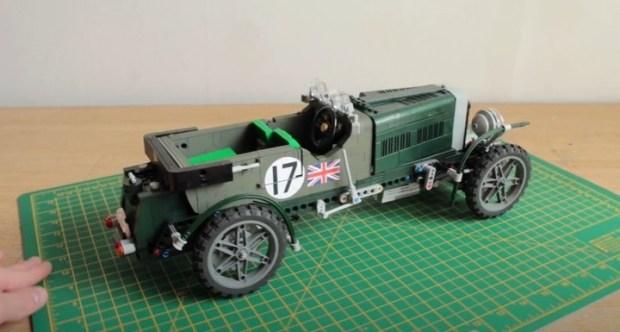 Как построить собственный Bentley используя только Lego?