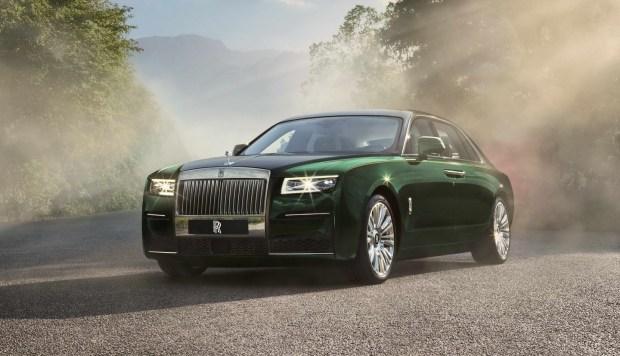 «Призрак переросток»: Rolls-Royce удлинил новый Ghost