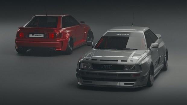 Немецкие тюнеры позаботилась о поклонниках старых Audi