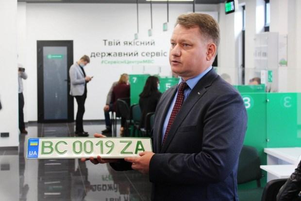 Сервисные центры начали выдавать ZEленые номера
