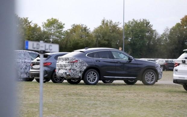 На тестах замечена битая BMW X4