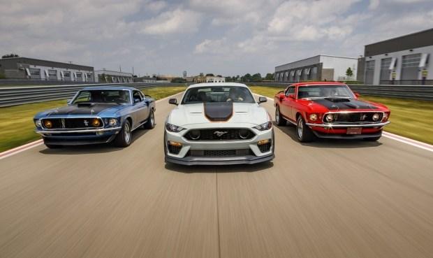 Mustang прощается с версиями Shelby GT350 и GT350R