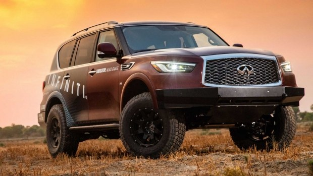 Infiniti представил свой вариант «женского» автомобиля