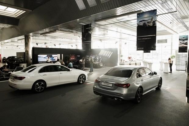 Mercedes-Benz E-Class (W213) FL