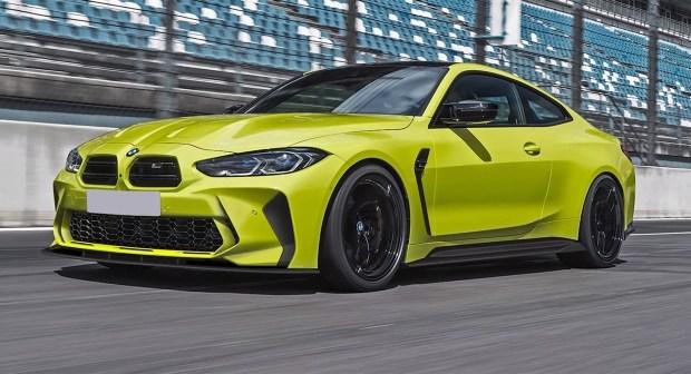 BMW M4 подправили «нос»