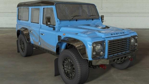 Land Rover превратит Defender в переднеприводный кроссовер