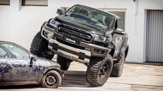Ranger на стероидах: единственное препятствие – подземная парковка