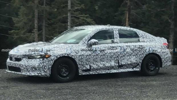На подходе новая Honda Civic: первый тизер