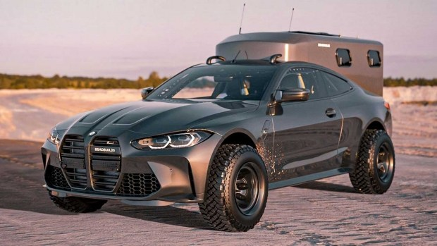 Что спасет внешность BMW M4? - Большие внедорожные колеса