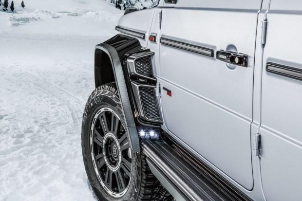 Brabus превратил новый G63 в пикап
