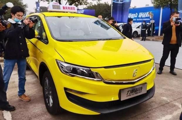 Электрический минивэн с новым логотипом Lifan Technology