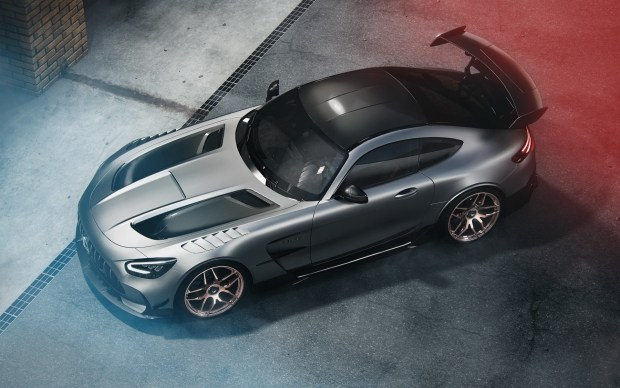 Wheelsandmore прокачали и без того «злой» AMG GT Black Series