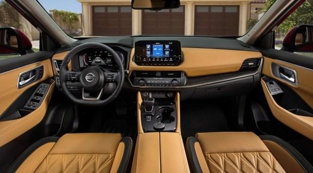 Новый Nissan Rogue для США