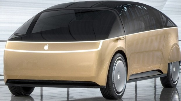 iCar от Apple: дисплеи вместо стекол