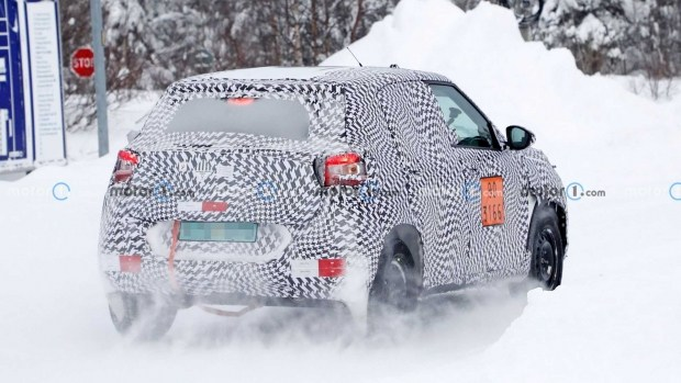 Citroen на базе Jeep Renegade выехал на тесты