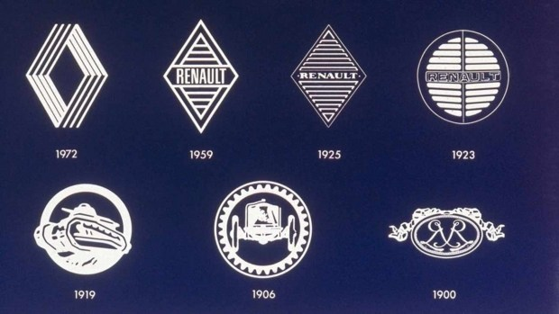 Renault официально представила новый логотип