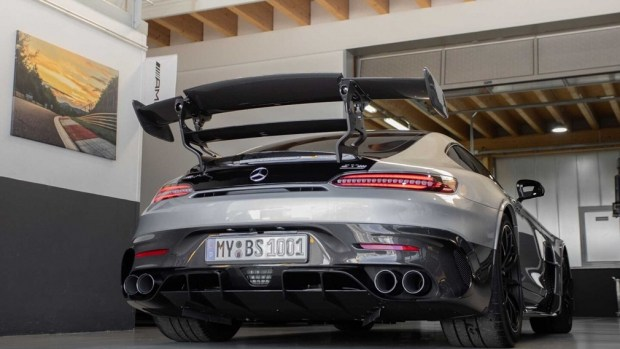 Представлен AMG GT: мощнее, чем Bugatti