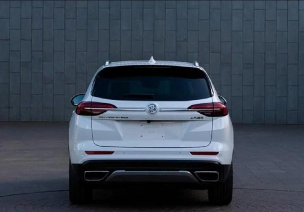 Трехрядный Buick Envision GX: ответ Toyota Highlander