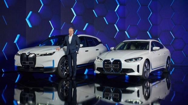 590 км без подзарядки: BMW представила электрокар i4