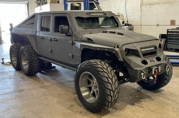 Апокалипсис который можно купить: продается экстремальный Jeep