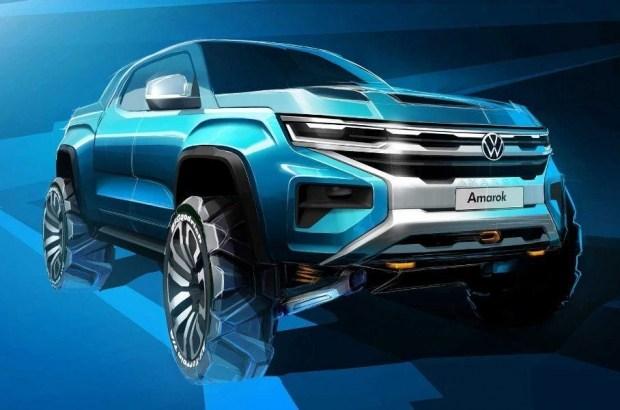 Еще одно изображение нового VW Amarok