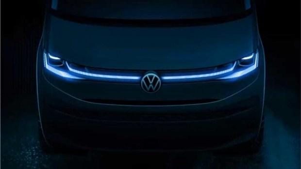 Первое официальное изображение нового Multivan